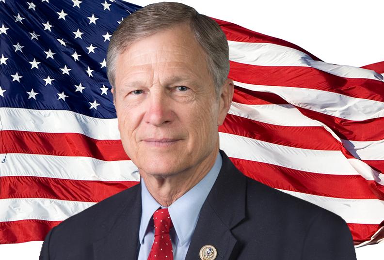 U S Congressman Brian Babin D D S